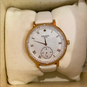 NWT Kate Spade Opal Face Watch